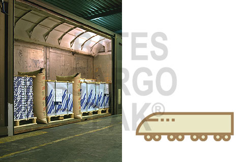 Bates Cargo-Pak Aps - airbags protects the cargo - absorbs vibrations